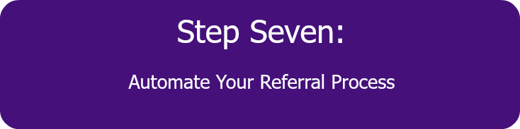 how to get business referrals executive training